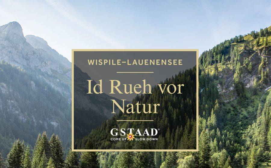 Neues Gstaad-Marketing-Plakat
