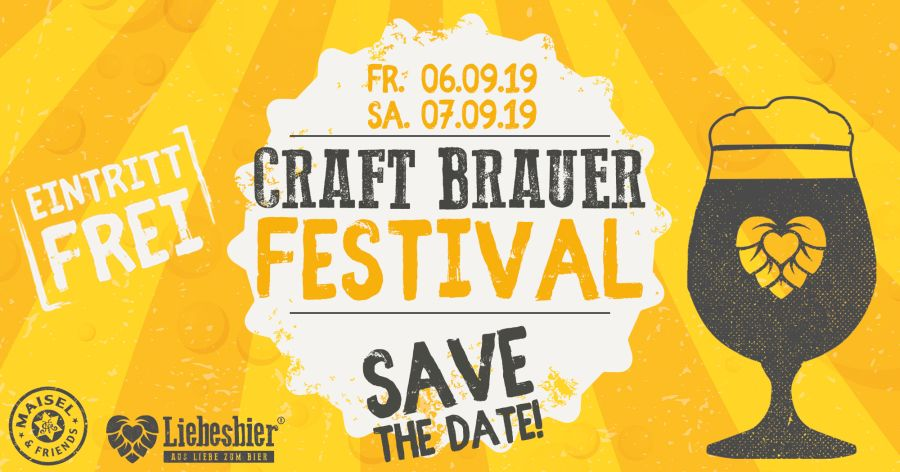 Craft Brauer Festival Header