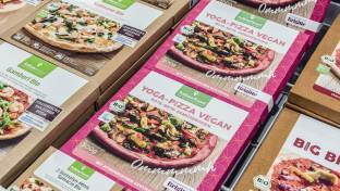 Yoga-Pizza vegan