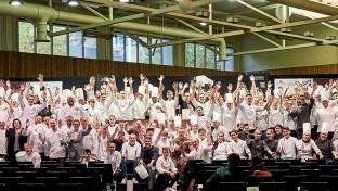 Alle Teilnehmer bei Young Chefs Unplugged