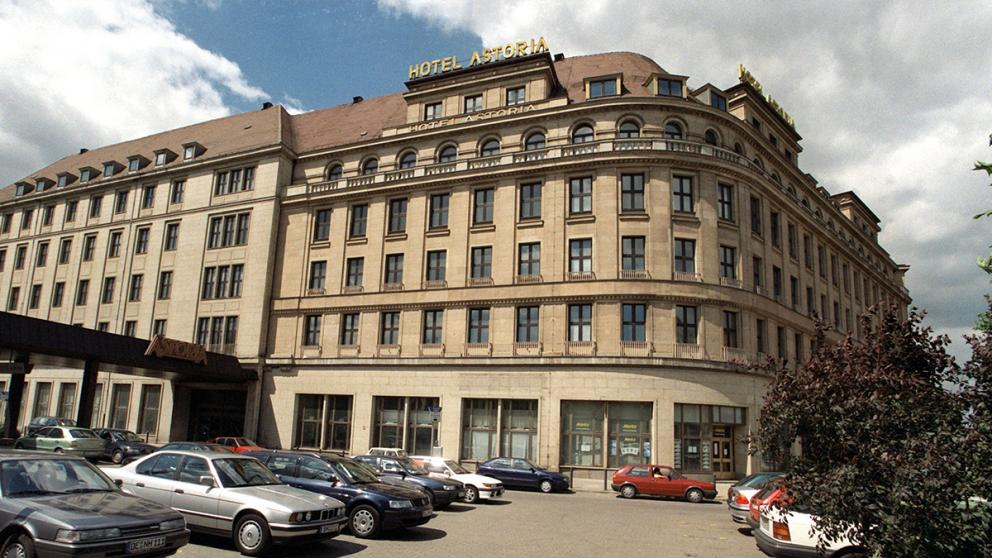 Das Hotel Astoria in Leipzig