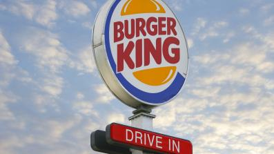 Ein Drive-in von Burger King
