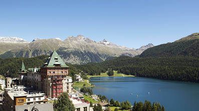 Badrutts Palace Hotel in St. Moritz