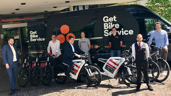 E-Bikes im Dolce By Windham Bad Nauheim