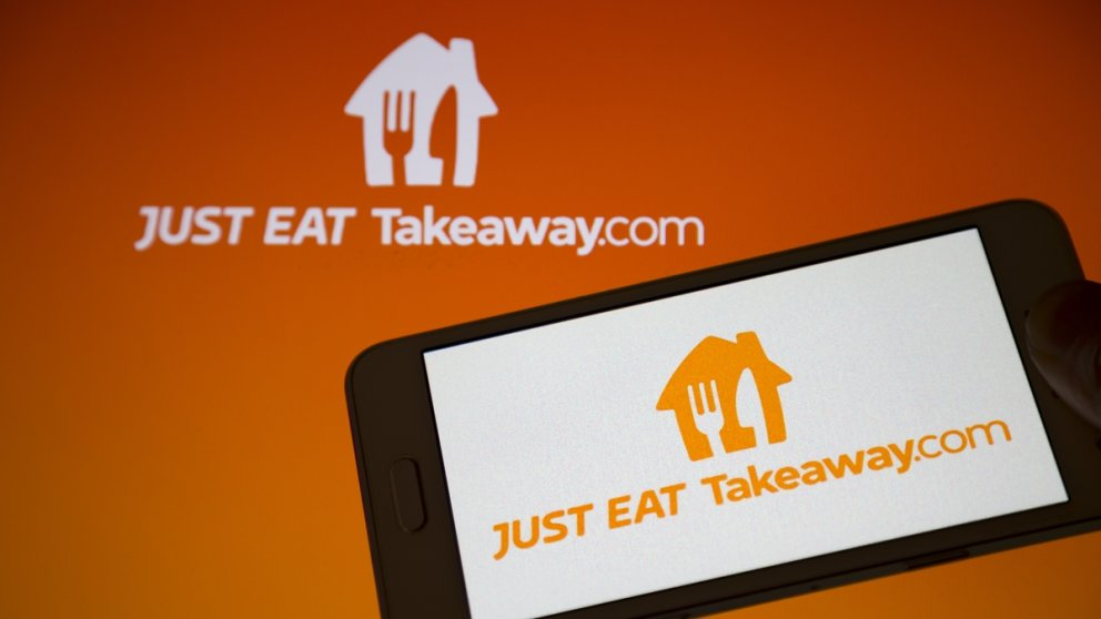 Das Logo von Just Eat Takeaway