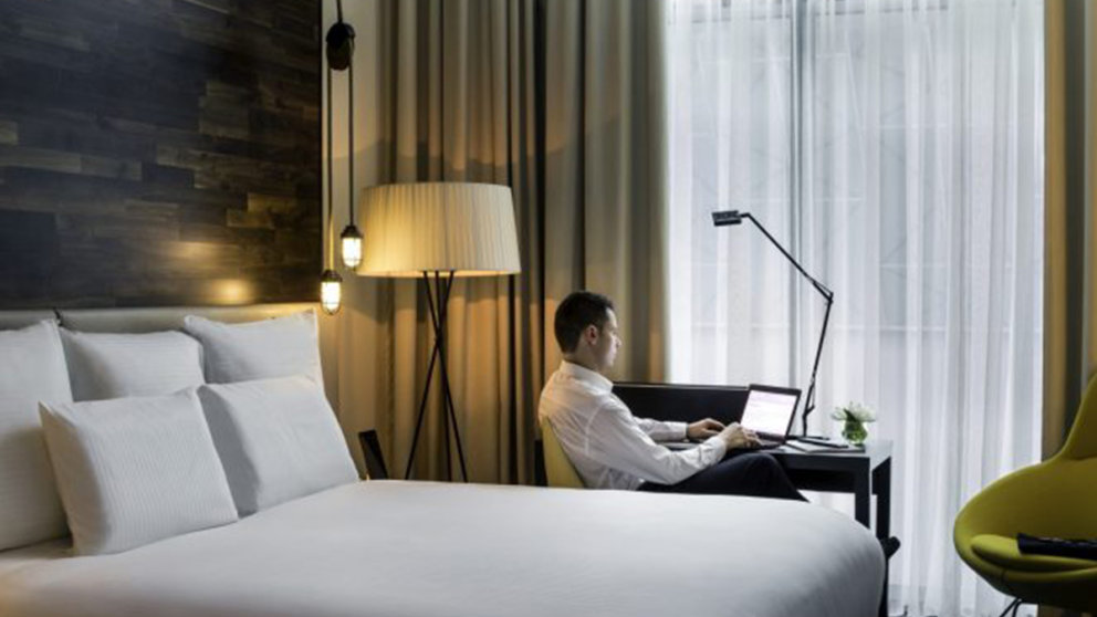 Accor Home-Office-Hotelzimmer
