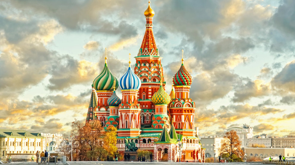 St. Basil's Cathedral in Moskau