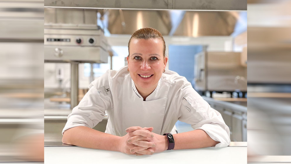 Michéle Müller, Executive Chef im Kempinski Palace Engelberg
