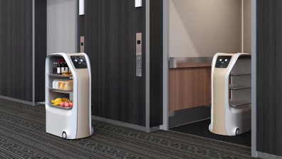 Roomservice Roboter Hotel